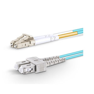 3M Fiber Optic Patch Cable LC to SC - 2meters