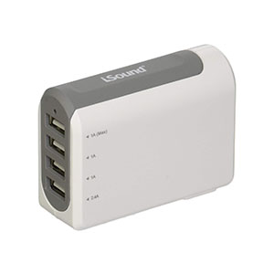 iSound USB AC Adapter 4 Ports - 6767