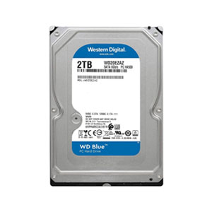 Western Digital Blue 3.5-inch Desktop HDD 2TB - WD20EZAZ