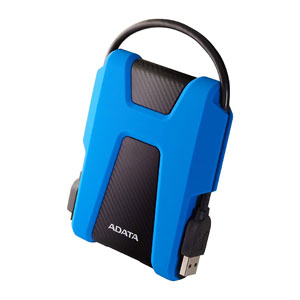 Adata HD680 2TB External Portable Drive - Blue