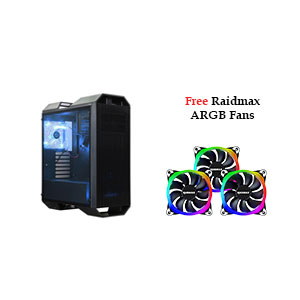 Raidmax Monster II Prime Computer Case Mid Tower Black - A08RTB