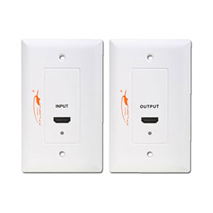 Atlona HDMI Long Distance Wall Plate Extender Over Cat5/6
