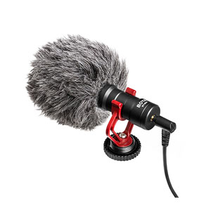 Boya Mini Cardioid Condenser Microphone - BY-MM1
