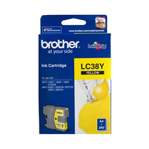 Brother Ink Yellow - LC38Y