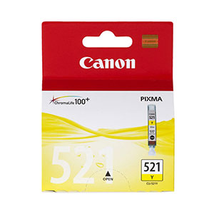 Canon Ink Yellow - CLI-521M