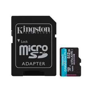 Kingston Canvas Go Plus 512GB Class 10 - SDCG3/512GB