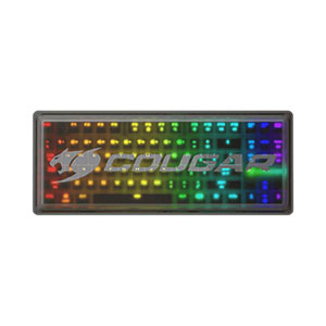 Cougar Puri TKL RGB Mechanical Gaming Keyboard Cherry MX Blue - CGR-WM3SB-PUT
