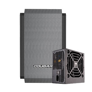 Cougar QBX Computer Case Mini ITX With STX 350W