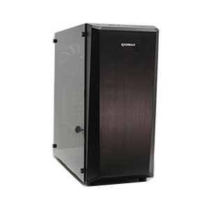 Raidmax Delta Prime Computer Case Mid Tower Black - A13RTB