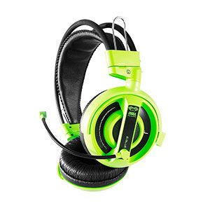E-Blue Cobra Gaming Headset Green - EHS013
