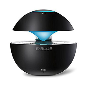 E-Blue Portable Bluetooth Speaker With 7 Colors Light Black - ESP201