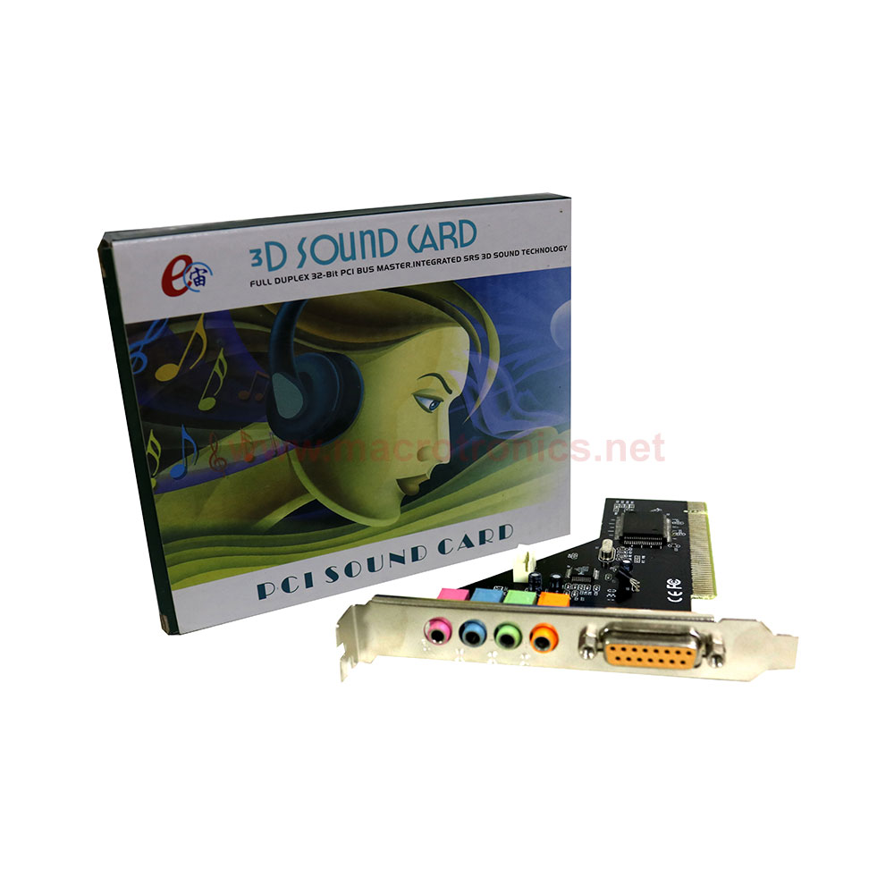 E-Zhou 3D Sound Card 4 Channels