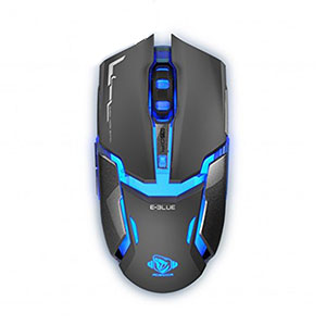 E-Blue Auroza Gaming Mouse Black RGB - EMS602