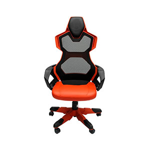 E-Blue Cobra Ergo Gaming Chair Black And Red - EEC307