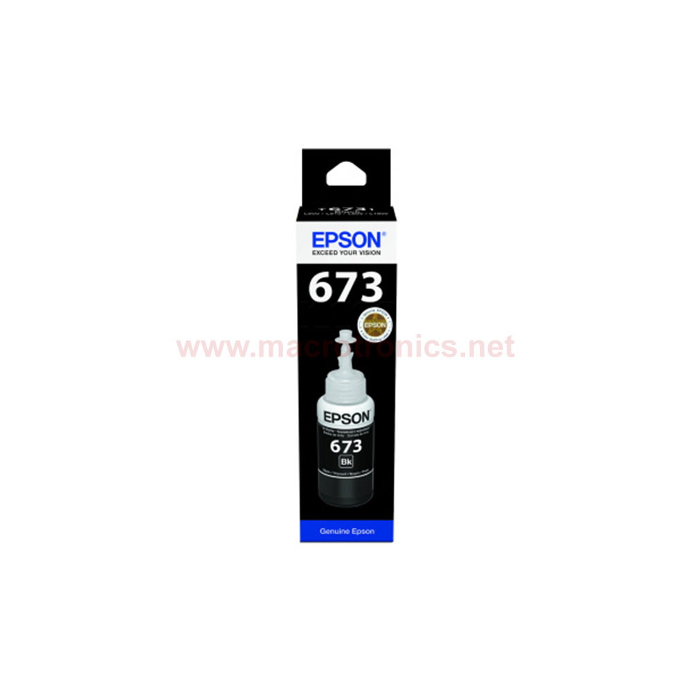 Epson Ink T6731 Black - Inks and Ribbons- Macrotronics