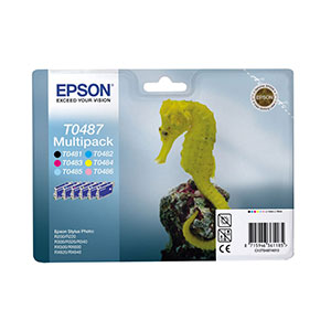 Epson Ink T0487 Multipack