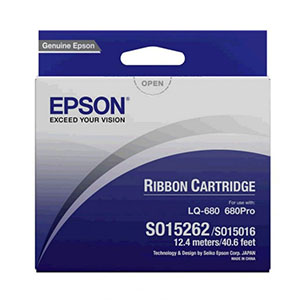 Epson Ribbon S015262 Black
