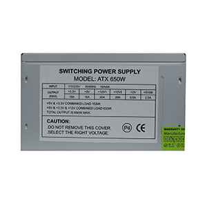 Evo Labs 650W Power Supply