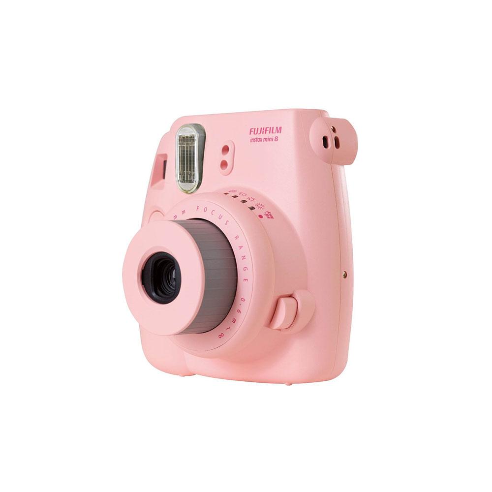 fujifilm instax mini 8 instant photo digital camera pink. Black Bedroom Furniture Sets. Home Design Ideas