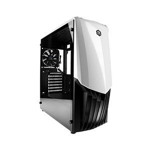 Raidmax Gama Computer Case Mid Tower White - A18TW