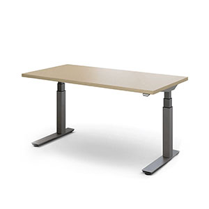 Traffic Adjustable-Height Computer Desk