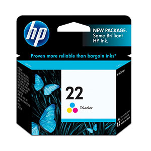 HP Ink 22 Tri-Color C9352AE