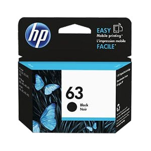 HP Ink 63 Black F6U62AA