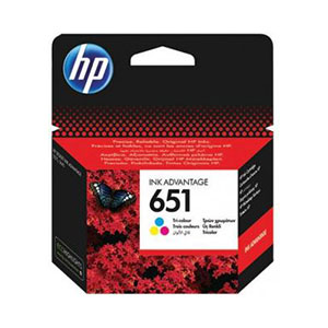 HP Ink 651 Tri-Color C2P11AE