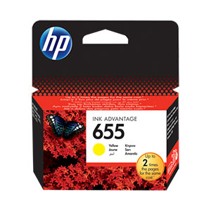 HP Ink 655 Yellow CZ112AE