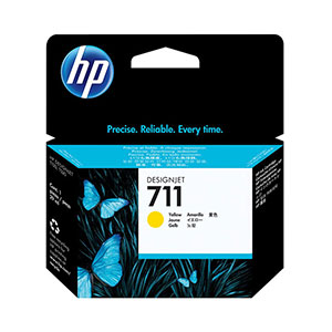 HP Ink 711 Yellow CZ132A