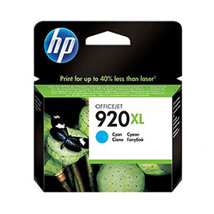 HP Ink 920XL Cyan CD972AE