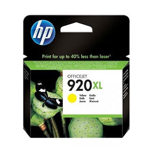 HP Ink 920XL Yellow CD974AE