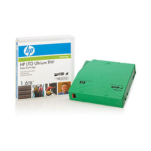 HP LTO Ultrium Data Cartridge Pack of 5
