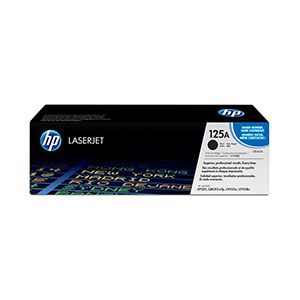 HP Toner 125A Black CB540A