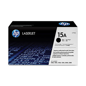 HP Toner 15A - Black