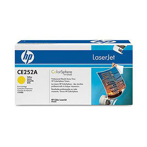 HP Toner 504A - Yellow