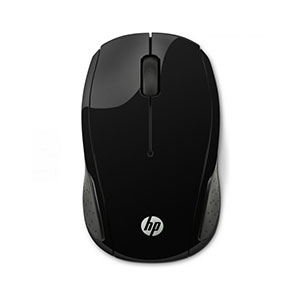 HP 200 Wireless Black Mouse - X6W31AA