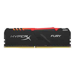 HyperX Fury 16GB DDR4 for Desktop RGB - HX432C16FB4A/16