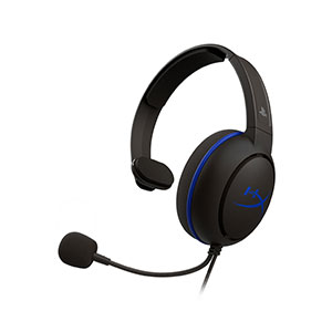 HyperX Cloud Chat Headset for PS4 - HX-HSCCHS-BK