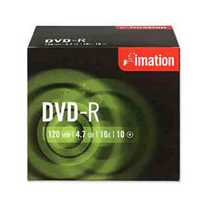 Imation DVD-RW - Pack Of 10