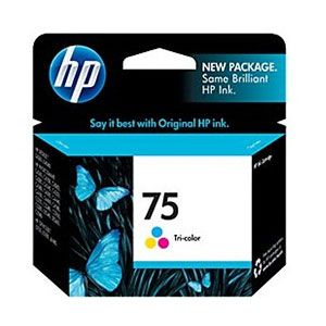HP Ink 75 Tri-Color CB337WA
