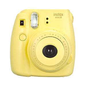 Fujifilm Instax Mini 8 Instant Camera - Yellow
