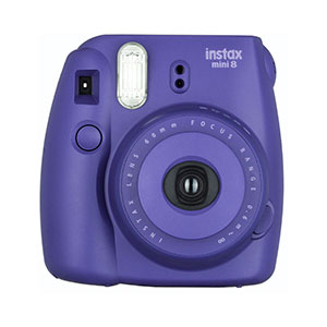 Fujifilm Instax Mini 8 Instant Camera - Grape Purple