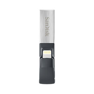 Sandisk iXPAND SDIX30C-032G-GN6NN 32GB USB 3.0 Flash Drive for iPhone