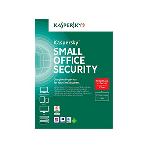 Kaspersky Small Office Security - 10PC's And 1 Server