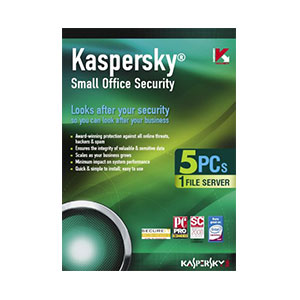 Kaspersky Small Office Security - 5PC's And Server