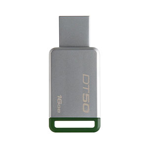 Kingston USB Drive 16GB Green - DT50/16GB