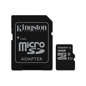 Kingston SDCS 16GB Micro-SD Card Class 1