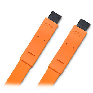 Lacie Flat Cable FW 800 To FW 800 - Orange