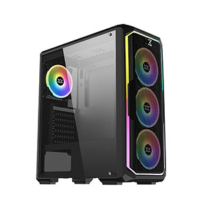 Xigmatek Leco Plus Computer Case Mid Tower Black - EN43453